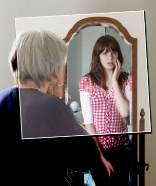 Reflection photoshopped