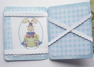 Rabbit wallet inside view 2